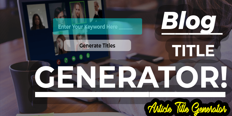 Article Title Generator or Blog Title Generator, VDiversify.com