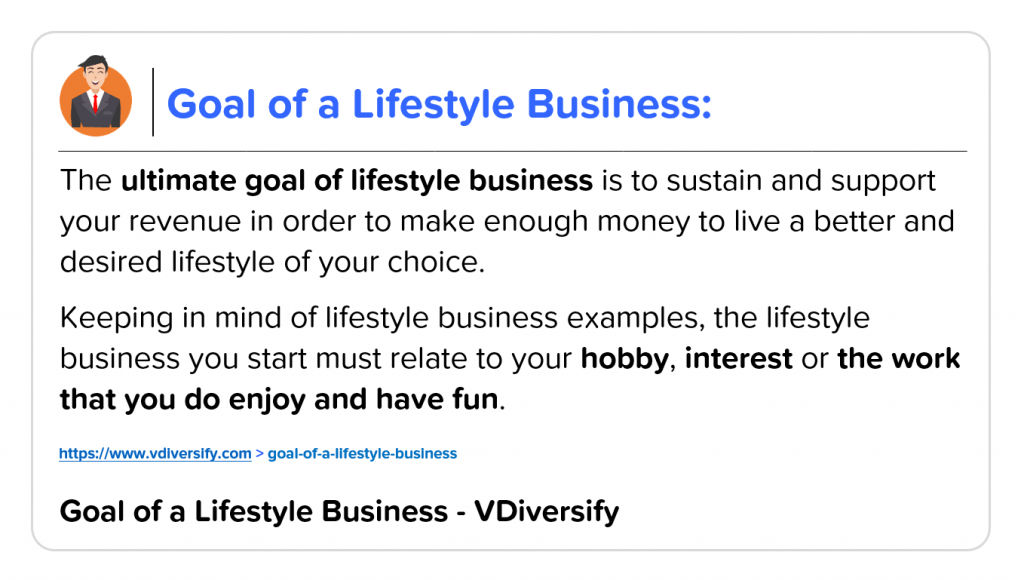 What Is Lifestyle Business_Goal of Lifestyle Business