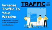25 Ways On How To Increase Traffic To My Website
