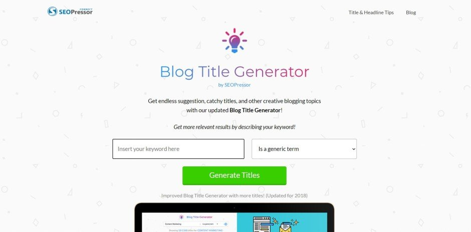 SEOpressor_blog_title_generator