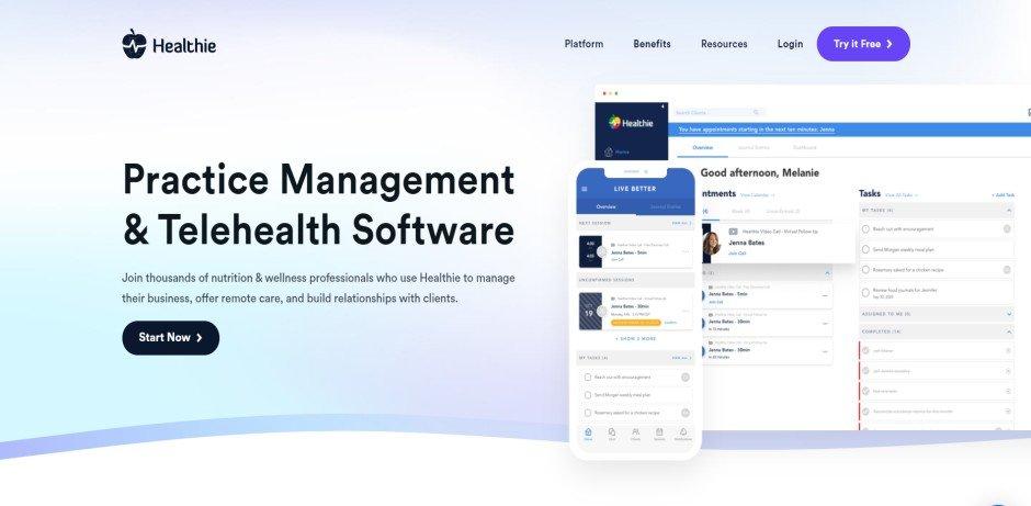 healthie_online_coaching_platform