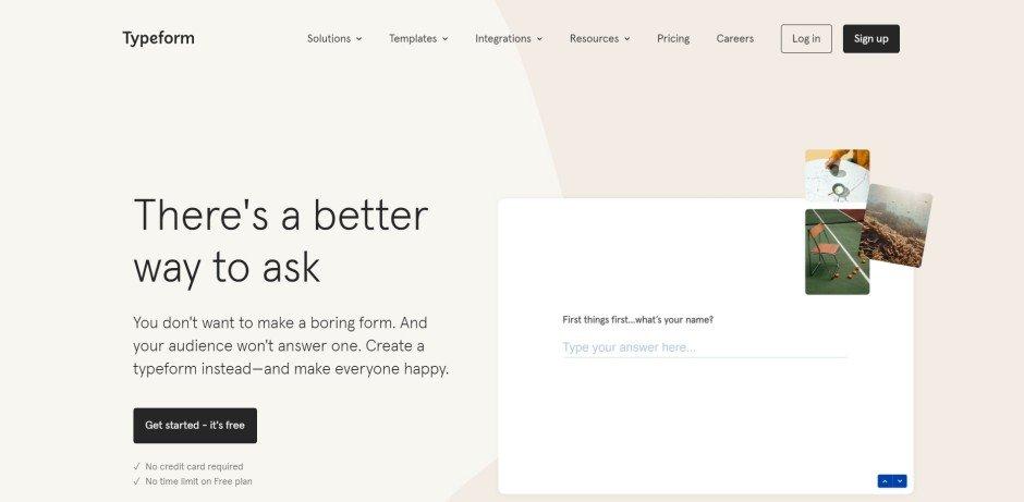 typeform_free_online_form_builder