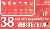 38 Best Ways To Monetize Website/Blog [2021] | How Monetize Website To Make Money